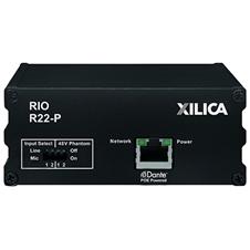 Xilica Rio R22-P - Транскодер аналоговых аудиосигналов и сигналов интерфейса Dante, двухканальный