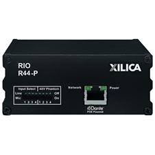 Xilica Rio R44-P - Транскодер аналоговых аудиосигналов и сигналов интерфейса Dante, четырехканальный