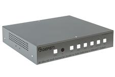 Gefen EXT-4K600A-MF-51-HBTLS - Мультиформатный процессор сигналов VGA, 3 х HDMI, DisplayPort и аудио в сигналы HDBaseT, HDMI и аудио