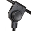 Proel PRO100BK - Микрофонная стойка с журавлем на треноге черного цвета