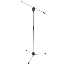 Proel PRO100CR - Микрофонная стойка с журавлем на треноге серебристого цвета