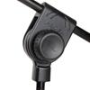 Proel PRO200BK - Микрофонная стойка с телескопическим журавлем на треноге черного цвета