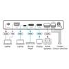 Kramer VP-426C - Масштабатор, автоматический коммутатор сигналов VGA / YPbPr, HDMI или USB-C в HDMI