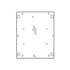 Peerless-AV PAP250-PANA1 - Специальный адаптер для тяжелых проекторов Panasonic
