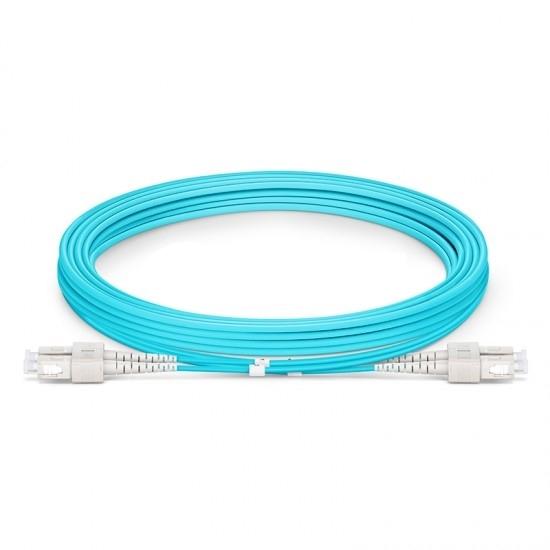 Opticis SSMD-625DT-100 - Дуплексный многомодовый оптоволоконный кабель в защитной оболочке с разъемами 2SC-2SC