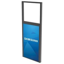 Peerless-AV DS-OM46ND-CEIL - Декоративная рама для крепления двусторонней панели Samsung OM46N-D к потолку