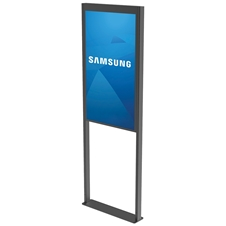 Peerless-AV DS-OM46ND-FLOOR - Декоративная рама для установки двусторонней панели Samsung OM46N-D на пол