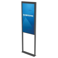 Peerless-AV DS-OM55ND-FLOOR - Декоративная рама для установки двусторонней панели Samsung OM55N-D на пол