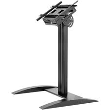 Peerless-AV SS575K - Низкая стационарная напольная стойка для ЖК-дисплея диагональю 32-75'' и массой до 68 кг с отсеком для медиаплеера