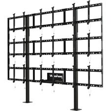 Peerless-AV DS-S555-3X3 - Стационарный стенд для видеостены 3х3 из панелей диагональю 46-55'', макс. нагрузка 409 кг