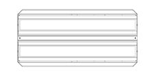 Brightline FLXT2-X35-F-MMM - Потолочный двухмодульный светодиодный светильник с регулировкой яркости по интерфейсу DALI
