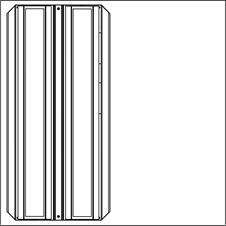 Brightline FLXT2-X35-F-MOM - Потолочный двухмодульный светодиодный светильник с регулировкой яркости по интерфейсу DALI