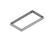 Brighline 016-229 - Рамка для установки одного светильника T-Series в гипсокартонные потолки с размером панели 1x2 фута