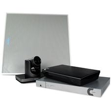 ClearOne COLLABORATE Live 1000 International (with ceiling tile Beamforming Microphone Array) - Комплект для организации видеоконференций с камерой и спикерфоном CHAT 150C