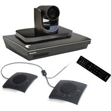 ClearOne COLLABORATE Live 600 - Комплект для организации видеоконференций с камерой и спикерфоном CHAT 150C