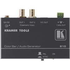 Kramer 810 - Генератор испытательных звуковых сигналов и цветных полос в форматах композитного и S-Video