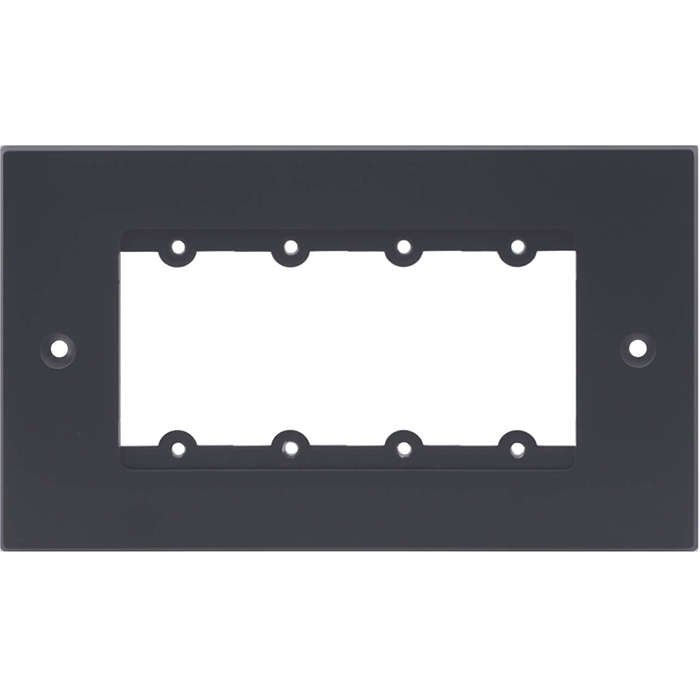 Kramer FRAME-2G/EUK(G) - Рамка для монтажа модулей-переходников на четыре места