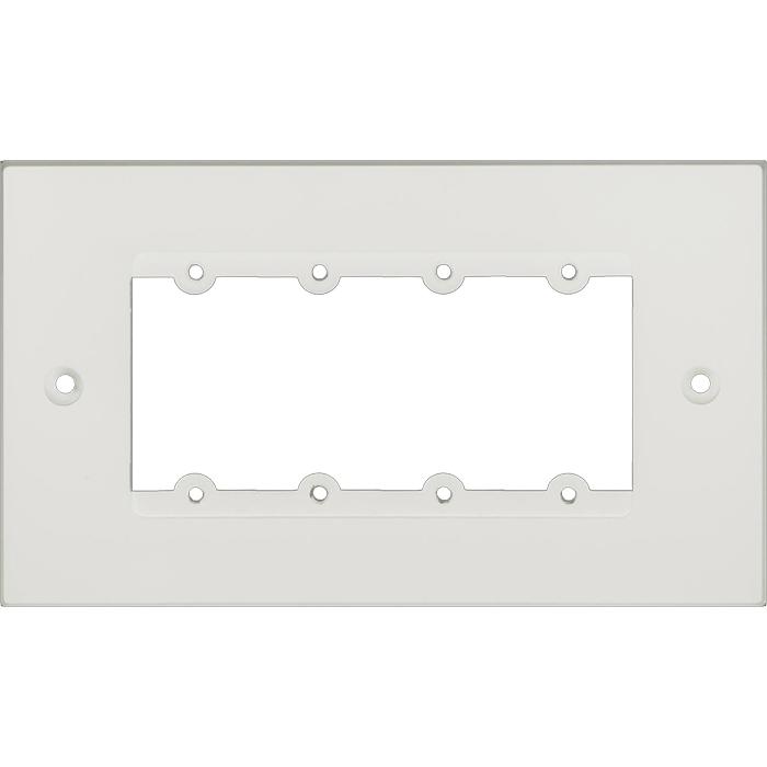 Kramer FRAME-2G/EUK(W) - Рамка для монтажа модулей-переходников на четыре места