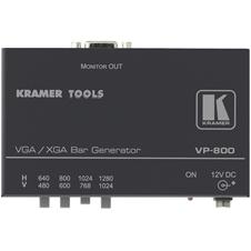 Kramer VP-800 - Компактный генератор испытательных цветных полос для сигнала VGA