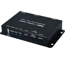 Cypress CSC-V102P - Масштабатор сигналов HDMI 4096x2160/60 с HDR c HDCP 1.4 (2.2) и расширенным EDID в сигнал HDMI 4096x2160/60