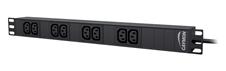 Caymon PSR108E - Распределитель питания на 8 розеток C13 в шкаф 19''