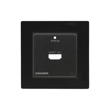Kramer WP-872XR/EU-PANEL(B) - Лицевая панель для приемника WP-872XR/EU-80/86(W)