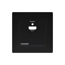 Kramer WP-3H2/EU-PANEL(B) - Лицевая панель для усилителя-эквалайзера WP-3H2/EU-80/86(W)