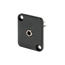 Sommer Cable HI-J35SEFD - Разъем miniJack 3,5 мм стерео (розетка), панельный, под пайку, с фланцем типа D