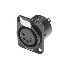 Sommer Cable HI-X5DF-M - Разъем XLR 5-pin (розетка), панельный, посеребренные контакты