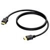 Procab BSV110/0.5 - Кабель Standard Speed HDMI 4K/30 c Ethernet (вилка-вилка)