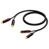 Procab CAB820/10 - Аудиокабель 2х RCA (вилка-вилка)