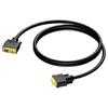 Procab CDV140/1.5 - Кабель DVI-D Dual Link (вилка-вилка) (22 AWG)