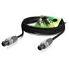 Sommer Cable ME25-225-0100-SW - Акустический кабель Meridian 2х2,5 кв.мм, Speakon NEUTRIK (розетка-розетка), 1 м, цвет черный