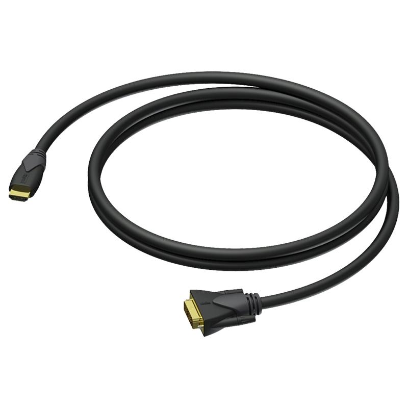 Procab CLV160/10 - Кабель DVI-D (вилка) – HDMI (вилка) (AWG 24)
