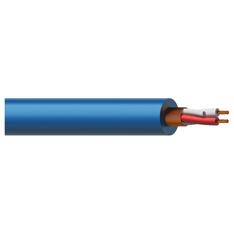 Procab MC305B - Кабель микрофонный 2x0,23 кв.мм, голубой