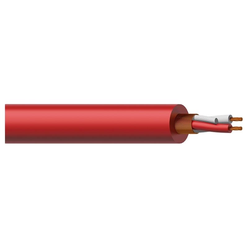 Procab MC305R - Кабель микрофонный 2x0,23 кв.мм, красный
