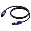 Procab PRA502/15 - Акустический кабель 2х2,5 кв.мм Speakon Neutrik (розетка-розетка)