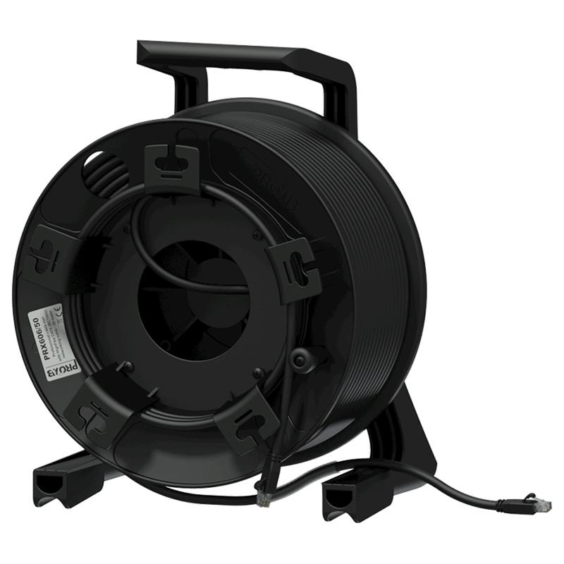 Procab PRX606/90 - Кабельная катушка c кабелем витой пары BCT60U (CAT6 U/UTP)