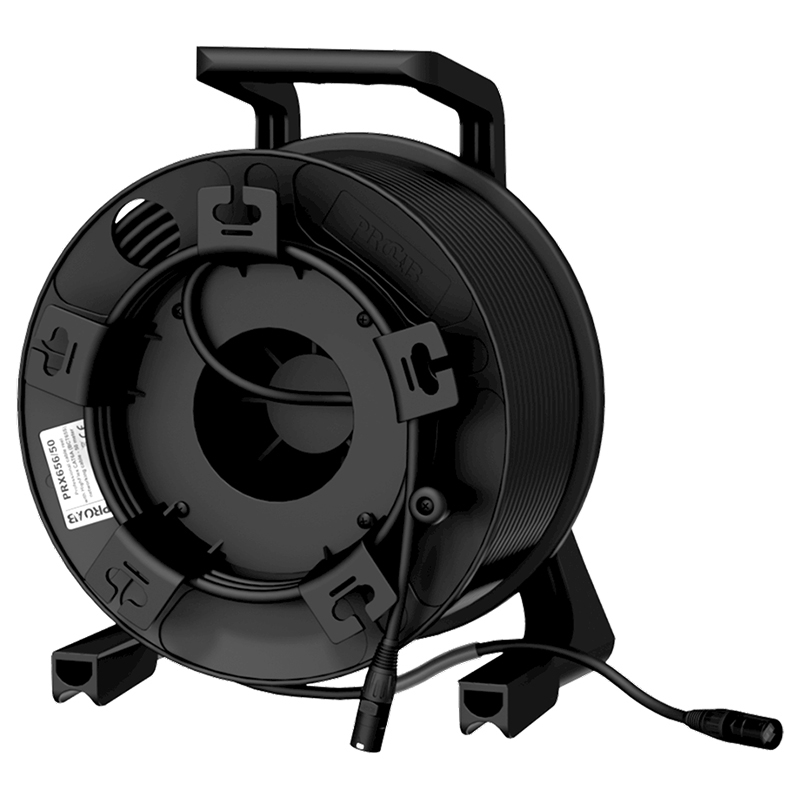 Procab PRX656/50 - Кабельная катушка c кабелем витая пара BCT65S (CAT6A S/FTP)