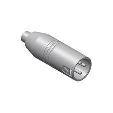 Procab VC102 - Переходник RCA (розетка) – XLR 3-pin (вилка)