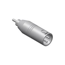 Procab VC135 - Переходник XLR 3-pin (вилка) – RCA (вилка)