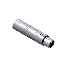 Procab VC150 - Переходник DMX XLR 3-pin (вилка) – XLR 5-pin (розетка)