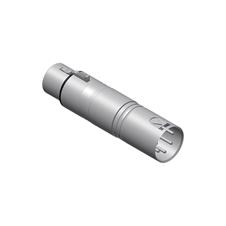 Procab VC155 - Переходник DMX XLR 3-pin (розетка) – XLR 5-pin (вилка)