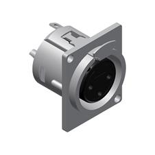 Procab VC3FDL - Разъем XLR 3-pin (розетка), D-SIZE, панельный
