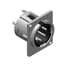 Procab VC5MDL - Разъем XLR 5-pin (вилка), D-SIZE, панельный