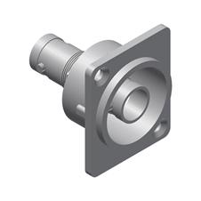 Procab VCD70 - Разъем BNC (розетка), проходной, D-size, металлический