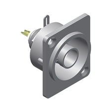 Procab VCD72 - Разъем BNC (розетка), D-size, металлический
