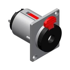 Procab VCJ3FP - Разъем Jack 6,3 мм стерео (розетка), панельный