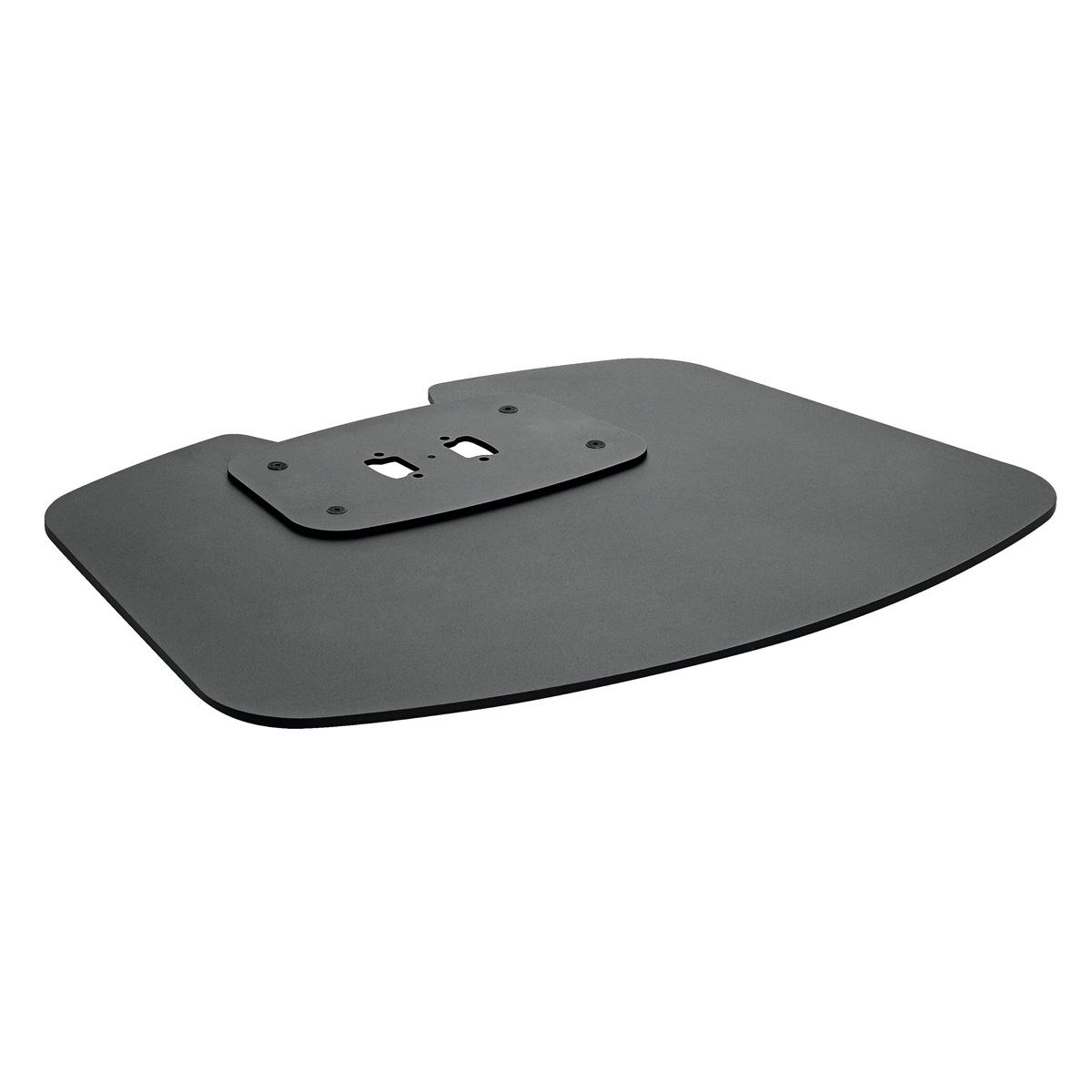 Vogels PFF 7020 Black - Напольная стационарная пластина для стендов и стоек модульной крепежной системы Connect-it, макс. нагрузка 105 кг