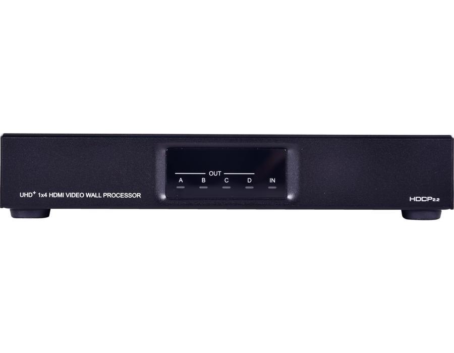 Cyperss CDPS-4KQ-AD - Контроллер видеостены от 2х2 до 8х8 для сигналов HDMI 4096x2160p/60 (4:4:4) c HDCP и HDR с AVLC